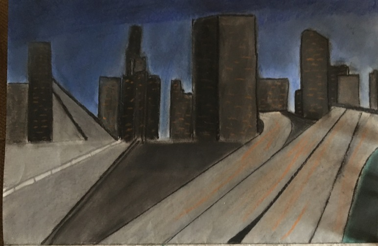 Cityscape by Vincent Paolicelli